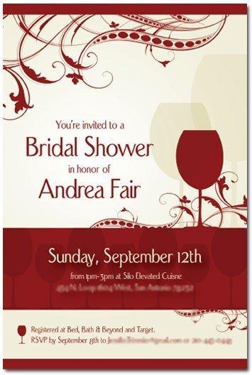 Bridal Shower Invite Design