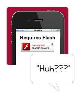 Avoid Flash Websites