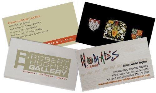 Robert Hughes Business Cards