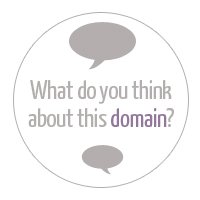 Get Feedback on your domain choice