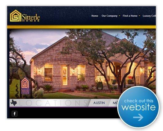 Sitterle Homes Website