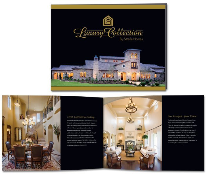 Luxury Collection by Sitterle Homes Brochure