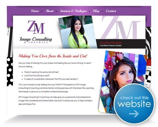 ZM Image Consulting Website