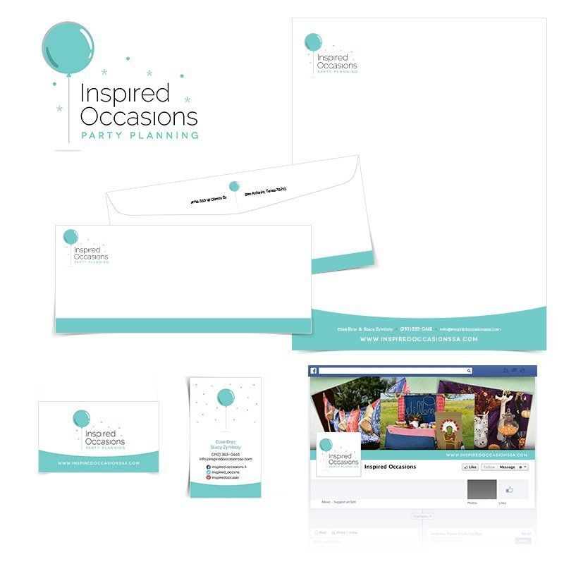 Inspired Occasions Identity Package