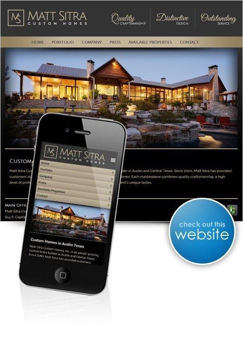 Matt Sitra Custom Homes Website