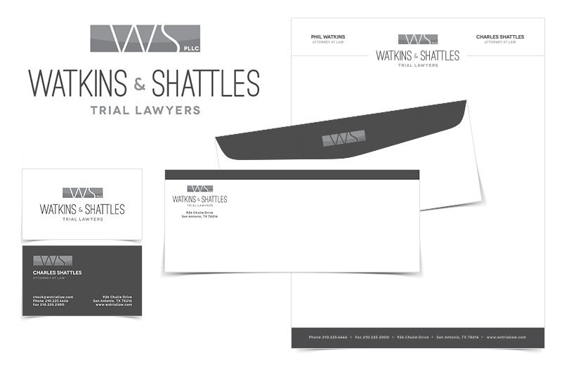 Watkins & Shattles Identity Package