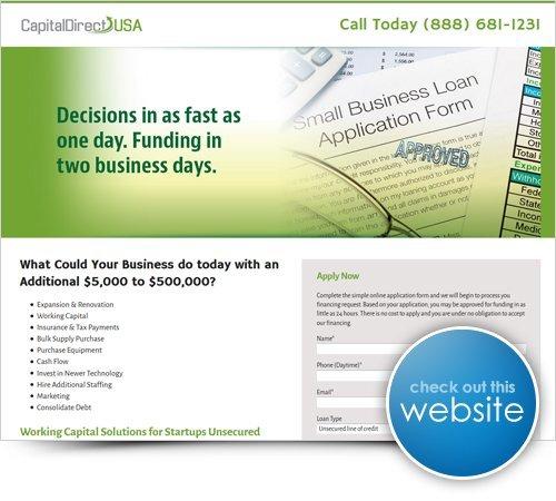 CapitalDirectUSA Website